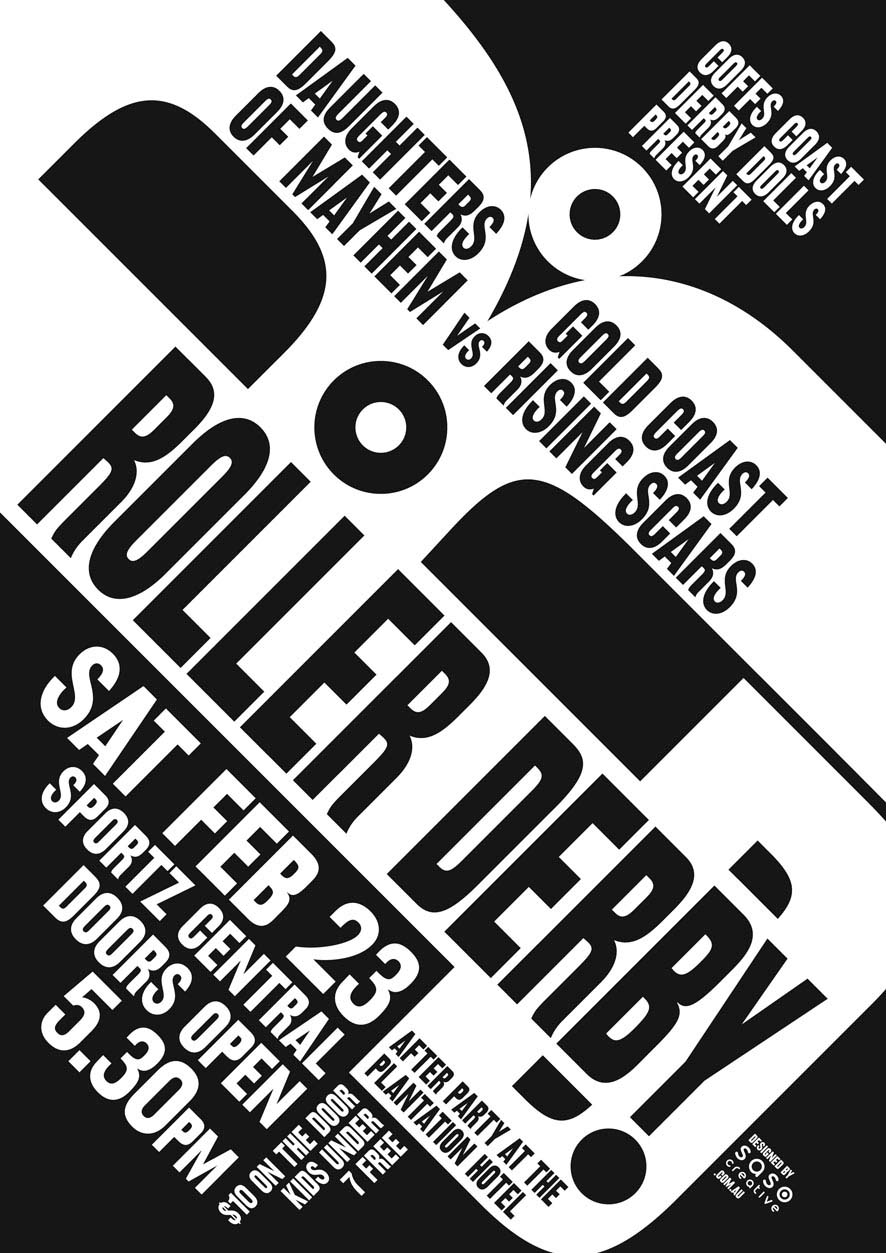 New Derby Art   saso.creative   Graphic Design, Coffs Harbour