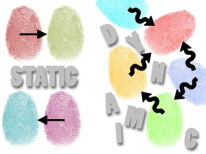 Static vs dynamic Websites: static websites are fine if your content is unlikely to change very often, but dynamic websites, as the name implies, give you the opportunity to manipulate and display your content -- your data -- in a variety of ways that makes for a better user experience.